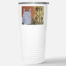 """""""Klimt's Cat"""" Stainless Steel Travel Mug"""