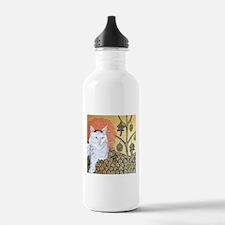 """""""Klimt's Cat"""" Water Bottle"""