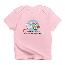 Stork Baby India Canada Infant T-Shirt