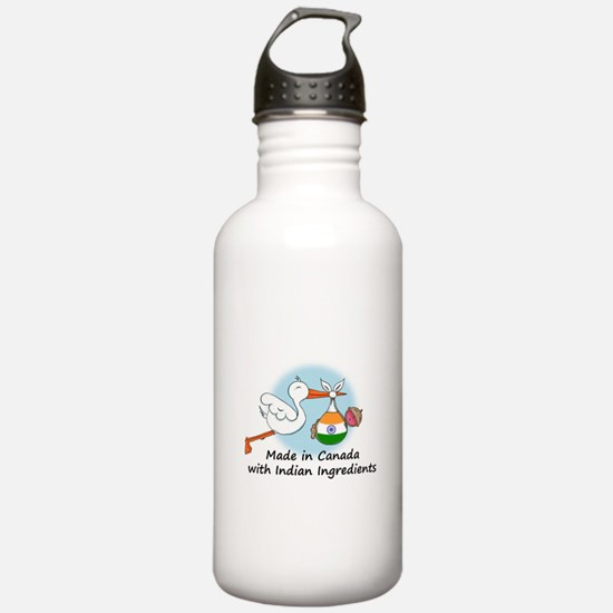 Stork Baby India Canada Water Bottle
