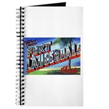 Fort Lauderdale Florida Greetings Journal