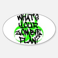 Whats Your Zombie Plan? Decal