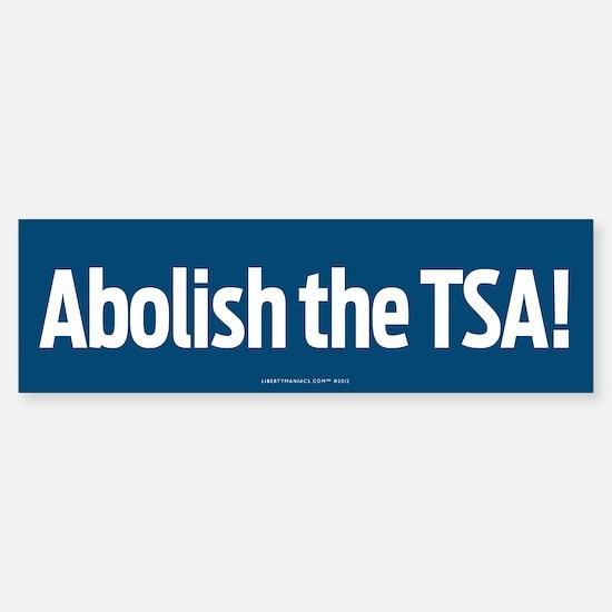 Abolish the TSA Sticker (Bumper)