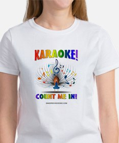 KARAOKE! COUNT ME IN! Women's T-Shirt