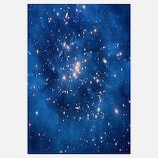 Dark matter ring in galaxy cluster