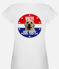 Vote: Dog Party! Shirt