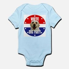 Vote: Dog Party! Infant Bodysuit