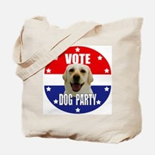 Vote: Dog Party! Tote Bag