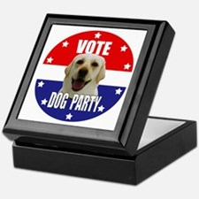 Vote: Dog Party! Keepsake Box