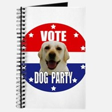Vote: Dog Party! Journal