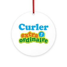 Curler Extraordinaire Ornament (Round)