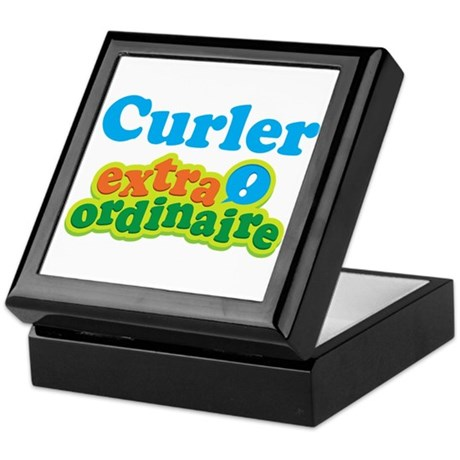 Curler Extraordinaire Keepsake Box