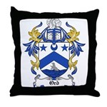 Ord Coat of Arms Throw Pillow