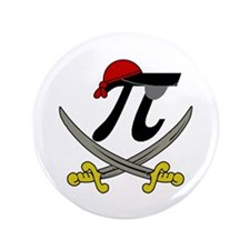 """Pi - Rate 3.5"""" Button (100 pack)"""