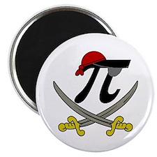 "Pi - Rate 2.25"" Magnet (100 pack)"