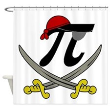 Pi - Rate Shower Curtain