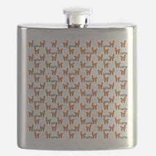Llama Mania Flask