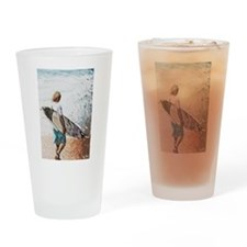 surfer dude Drinking Glass
