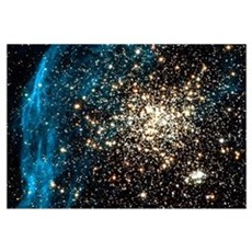 Double star cluster Poster