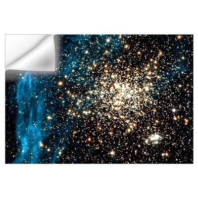 Double star cluster Wall Decal