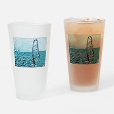 windsurf Drinking Glass