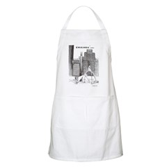 Downtown Chicago BBQ Apron