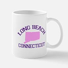 Long Beach CT - Map Design. Mug