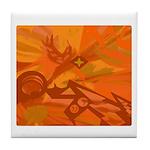 Go Oranges! Tile Coaster
