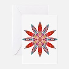 Attraction Big Flower Greeting Cards (Pk of 20)