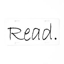 Read (Ver 4) Aluminum License Plate
