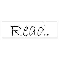Read (Ver 4) Bumper Sticker