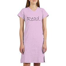 Read (Ver 4) Women's Nightshirt