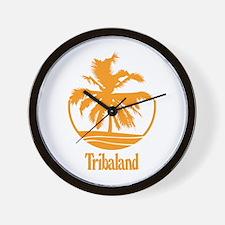 Tribaland - Wall Clock