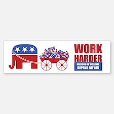 Anti Liberal Political Bumper Car Sticker Car Car Sticker