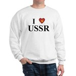 I Love USSR Sweatshirt