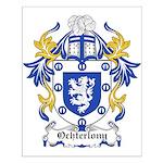 Ocherlony Coat of Arms Small Poster