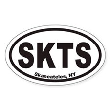 Skaneateles SKTS Euro Oval Decal