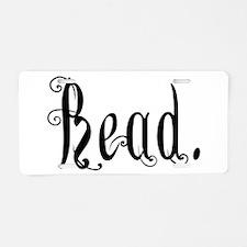 Read (Ver 2) Aluminum License Plate
