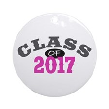 Class of 2017 Ornament (Round)