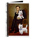 Westie dog Journals & Spiral Notebooks