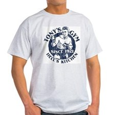 Tony's Boxing Gym Ash Grey T-Shirt
