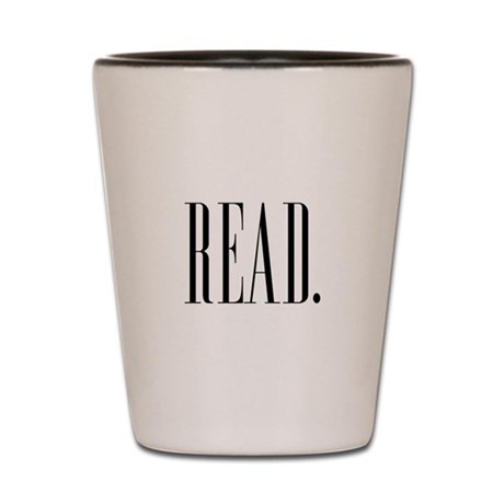 Read (Ver 1) Shot Glass