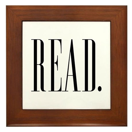 Read (Ver 1) Framed Tile