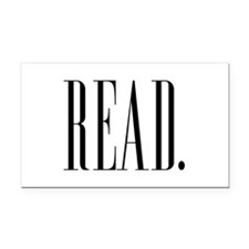 Read (Ver 1) Rectangle Car Magnet