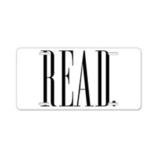 Read (Ver 1) Aluminum License Plate