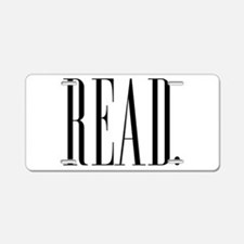 Read (Ver 1) Aluminum License Plate