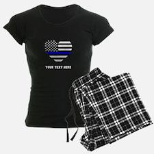 Thin Blue Line Love Pajamas