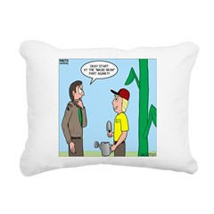 Scout Gardening Rectangular Canvas Pillow