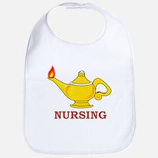 Nursing Lamp with Nursing Text Bib