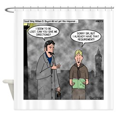 Scout Lore Shower Curtain